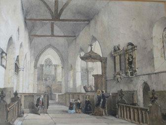 Bishopsbourne 200 years ago