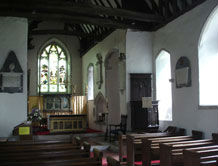 The Chancel and Sanctuary in St. Giles