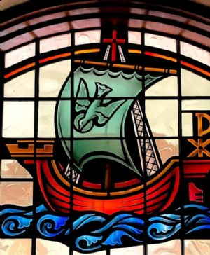 Christ at the helm