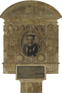 Hookers memorial in the Chancel