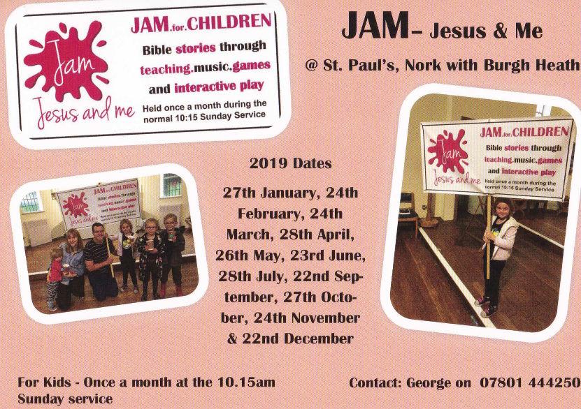 JAM Jesus and me