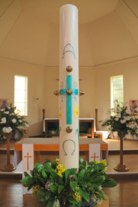 2015 Easter Candle 2