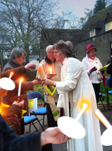 Easter Dawn Service 2014