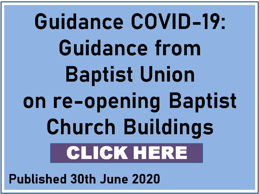 Baptist Union Guidance