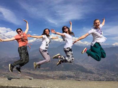 Nepal Team Jumping
