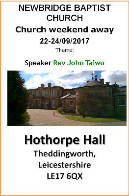 Hothorpe Programme 2017