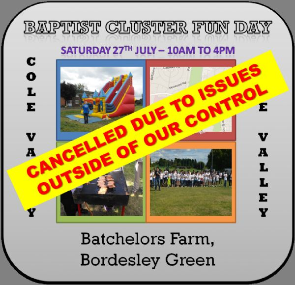 Funday 2019 Cancelled