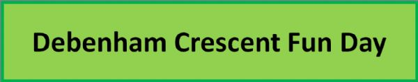 Debenham Crescent Banner