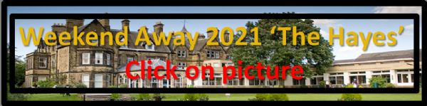 Weekend Away Button 2021