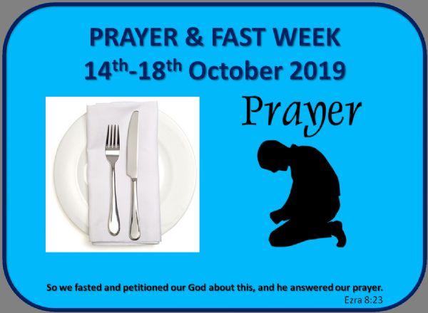 Prayer & Fast
