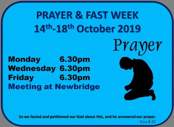 Prayer & Fast Times