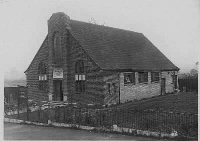 Church Picture 1930 BW