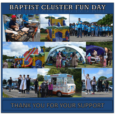 Cluster Funday Thankyou