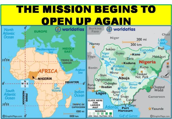 Mission Opens Up