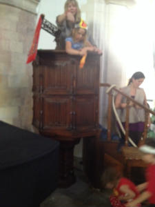 Flying helicopters from the pulpit