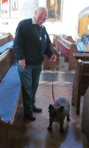 alan and dog