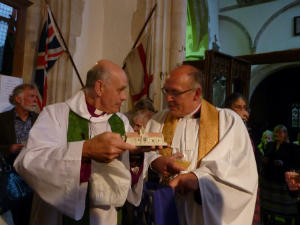 Presentation to Bishop of Dover