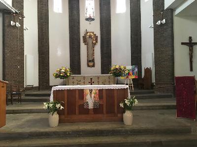 Church Interior 2017
