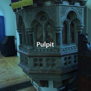Pulpit button