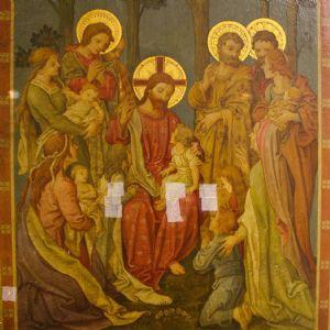 Christ and children