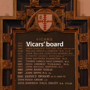 Vicars board