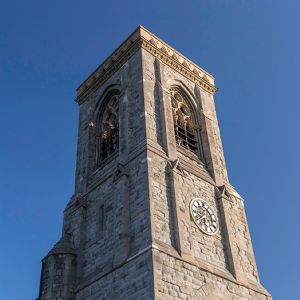 clock in tower