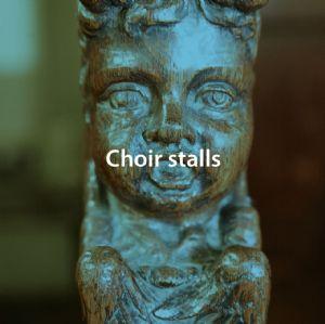 Choir stalls button