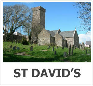 St Davids front tab