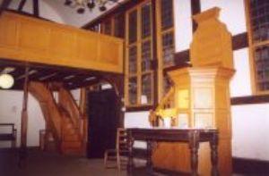 inside old chapel