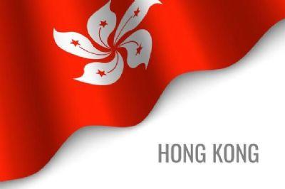 Waving Flag Hong Kong