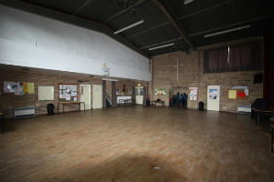 The Main Hall of the Parish centre
