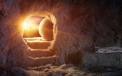 Empty Easter Tomb