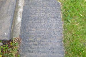 Gravestone of James Stott