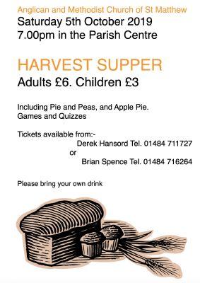 Harvest Supper October 2019