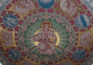 Christ the King on the Apse Ceiling