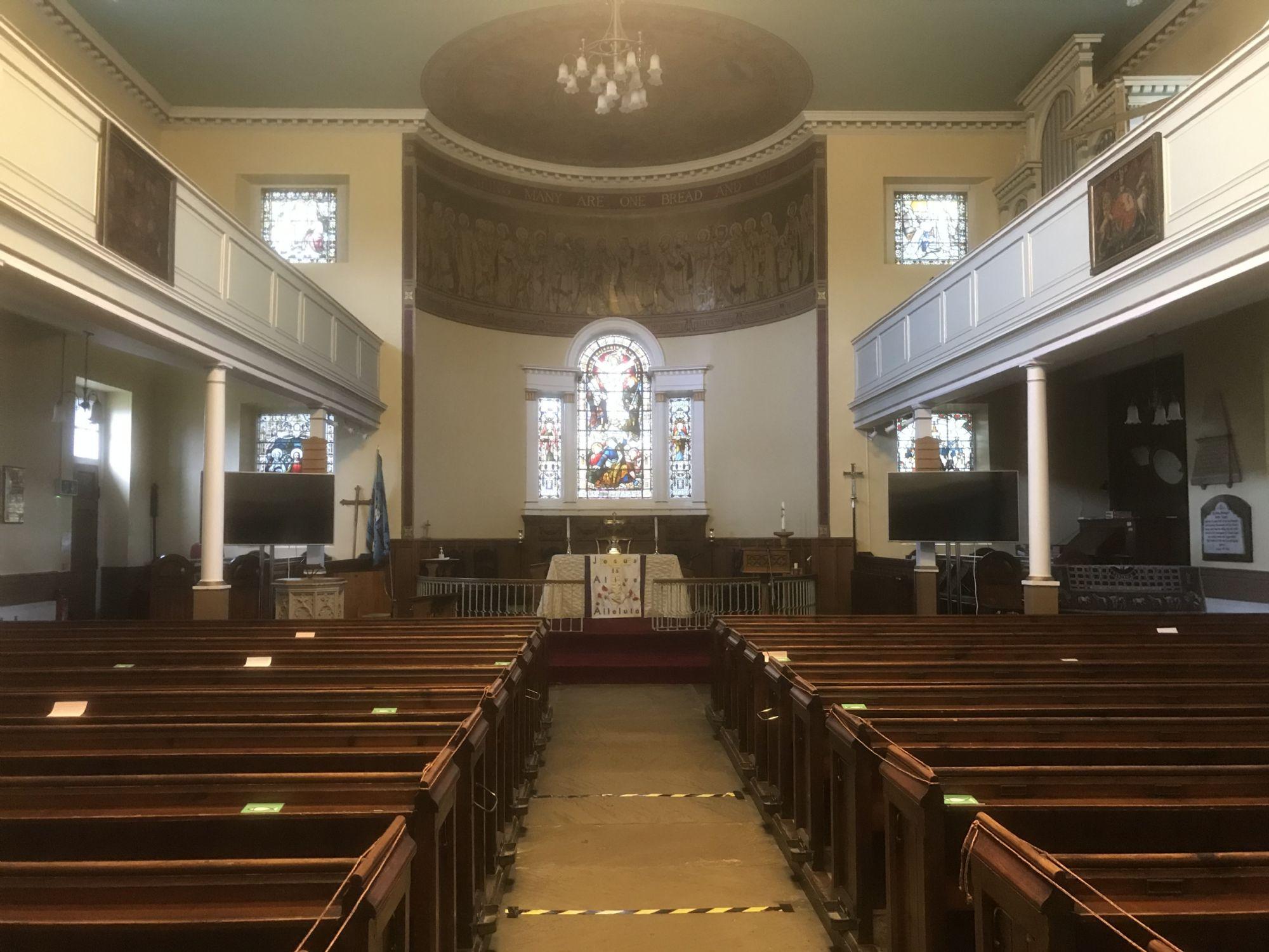 St Matthew's Interior March 2021