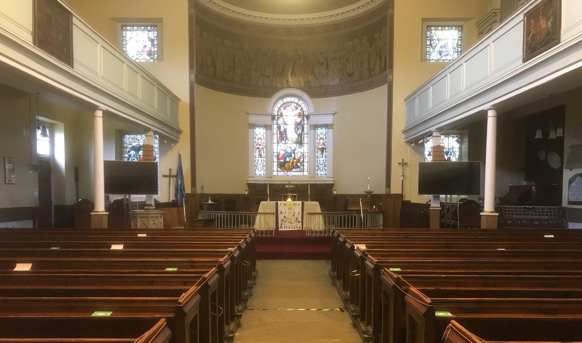 St Matthew's Interior 2 March 2021