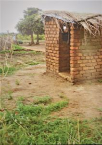 Our Twin Toilet in Malawi