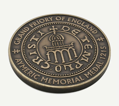 Aymeric Memorial Medallion - back