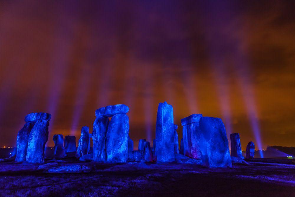 NHS - Blue - Stonehenge