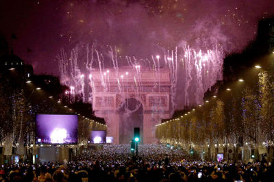 New Year - Paris