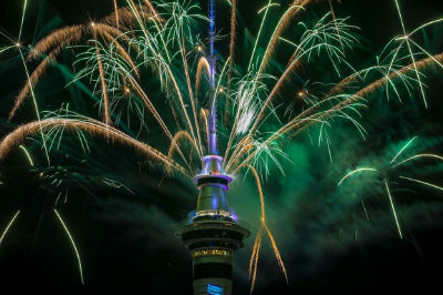 New Year - Auckland, New Zealand