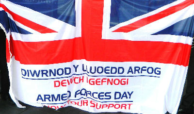 Armed Forces Day - Welsh Flag