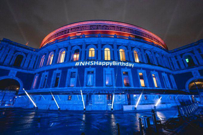 NHS - Blue - Royal Albert Hall