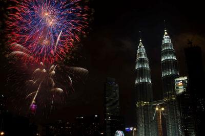New Year - Kuala Lumpur, Malaysia