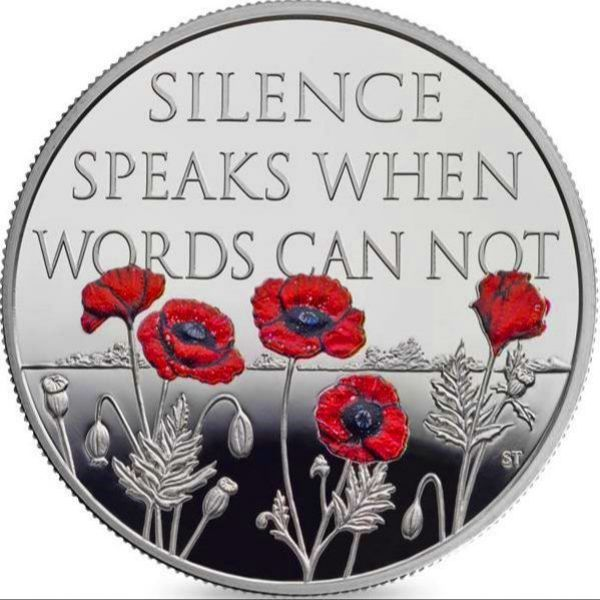Silent Remembrance coin