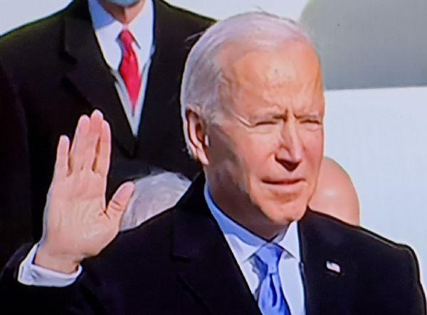 President - Joe Biden - oath