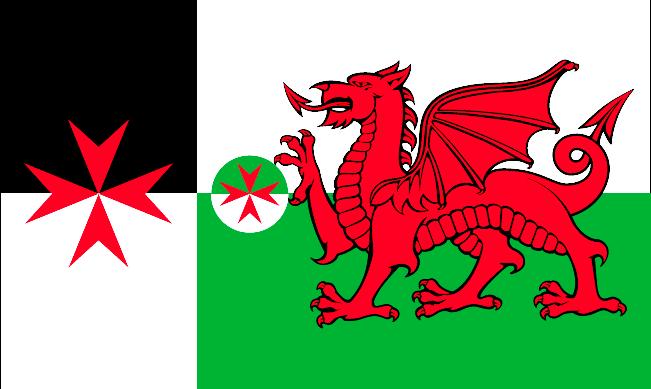 Flag - Wales - No border