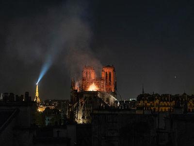 Notre Dame & Eiffel Tower
