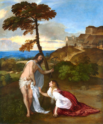 Noli me Tangere - Titian c.1514